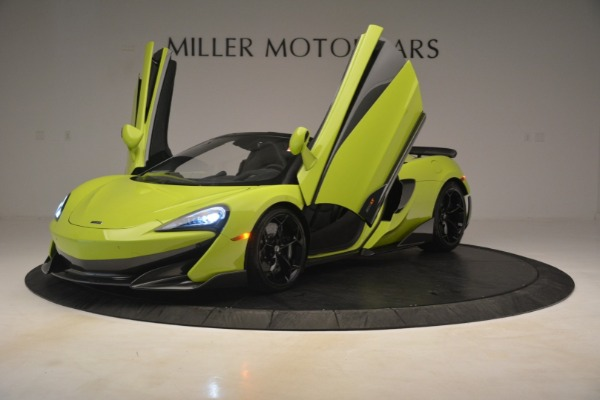 New 2020 McLaren 600LT SPIDER Convertible for sale $281,570 at Maserati of Greenwich in Greenwich CT 06830 18