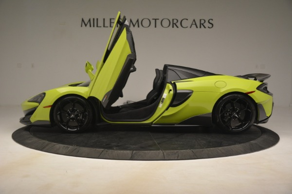 New 2020 McLaren 600LT Spider for sale $281,570 at Maserati of Greenwich in Greenwich CT 06830 19