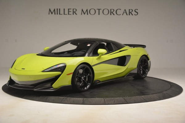 New 2020 McLaren 600LT Spider for sale $281,570 at Maserati of Greenwich in Greenwich CT 06830 2