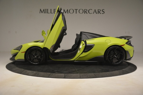 New 2020 McLaren 600LT SPIDER Convertible for sale $281,570 at Maserati of Greenwich in Greenwich CT 06830 20