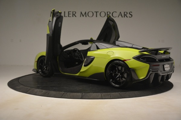 New 2020 McLaren 600LT Spider for sale $281,570 at Maserati of Greenwich in Greenwich CT 06830 21