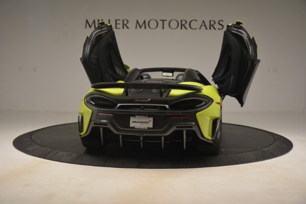 New 2020 McLaren 600LT SPIDER Convertible for sale $281,570 at Maserati of Greenwich in Greenwich CT 06830 22