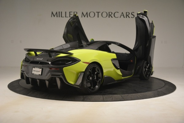 New 2020 McLaren 600LT Spider for sale $281,570 at Maserati of Greenwich in Greenwich CT 06830 23