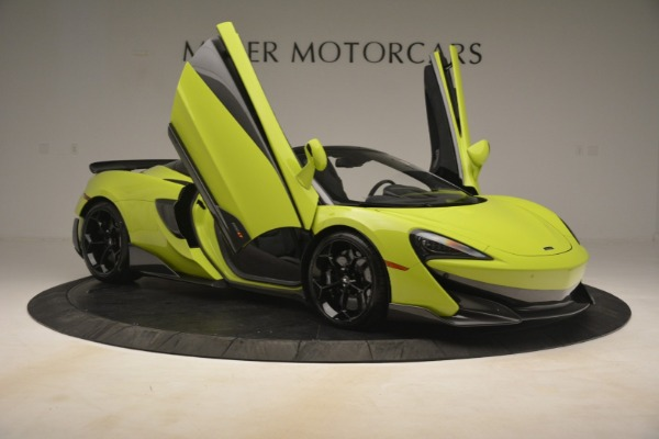 New 2020 McLaren 600LT Spider for sale $281,570 at Maserati of Greenwich in Greenwich CT 06830 25