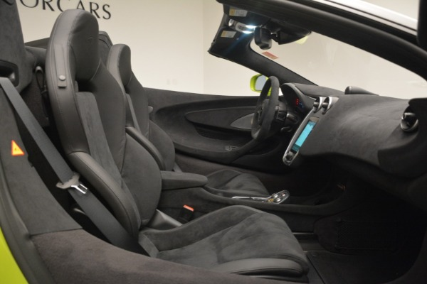 New 2020 McLaren 600LT SPIDER Convertible for sale $281,570 at Maserati of Greenwich in Greenwich CT 06830 28