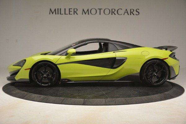 New 2020 McLaren 600LT Spider for sale $281,570 at Maserati of Greenwich in Greenwich CT 06830 3