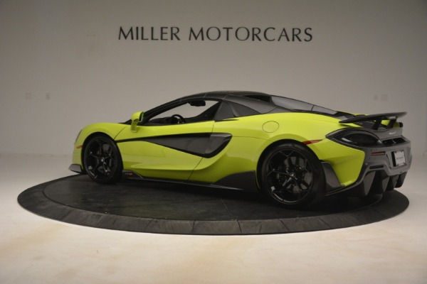 New 2020 McLaren 600LT Spider for sale $281,570 at Maserati of Greenwich in Greenwich CT 06830 4