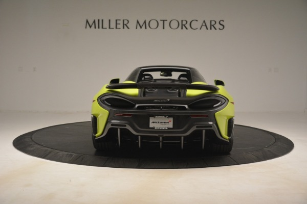 New 2020 McLaren 600LT Spider for sale $281,570 at Maserati of Greenwich in Greenwich CT 06830 5