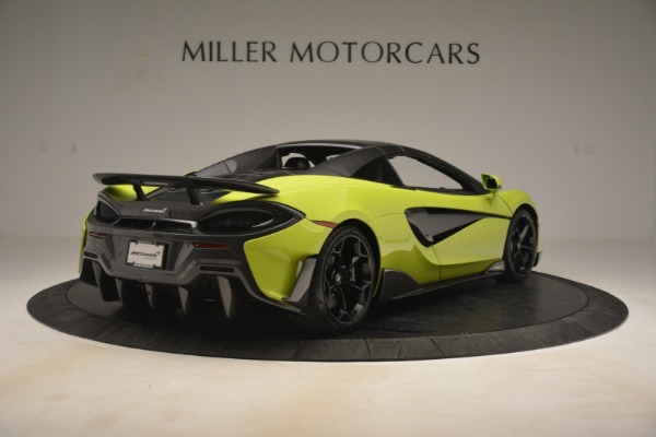 New 2020 McLaren 600LT Spider for sale $281,570 at Maserati of Greenwich in Greenwich CT 06830 6