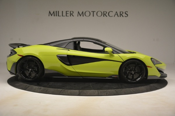 New 2020 McLaren 600LT Spider for sale $281,570 at Maserati of Greenwich in Greenwich CT 06830 7