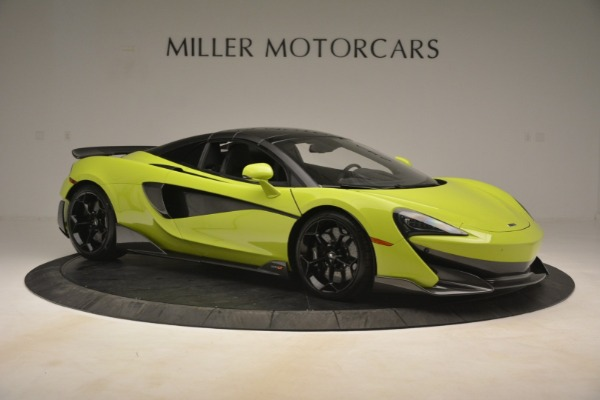 New 2020 McLaren 600LT SPIDER Convertible for sale $281,570 at Maserati of Greenwich in Greenwich CT 06830 8