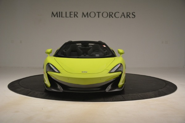 New 2020 McLaren 600LT SPIDER Convertible for sale $281,570 at Maserati of Greenwich in Greenwich CT 06830 9