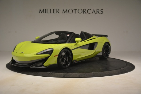 New 2020 McLaren 600LT Spider for sale $281,570 at Maserati of Greenwich in Greenwich CT 06830 1