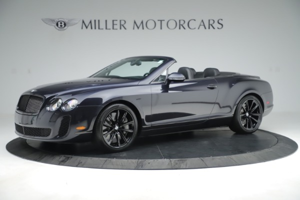 Used 2012 Bentley Continental GT Supersports for sale Sold at Maserati of Greenwich in Greenwich CT 06830 2