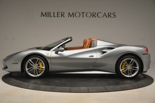Used 2019 Ferrari 488 Spider for sale Sold at Maserati of Greenwich in Greenwich CT 06830 3