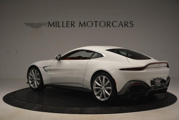 New 2019 Aston Martin Vantage Coupe for sale Sold at Maserati of Greenwich in Greenwich CT 06830 3