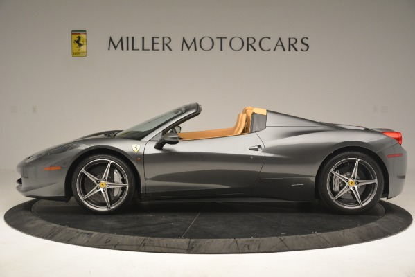 Used 2013 Ferrari 458 Spider for sale Sold at Maserati of Greenwich in Greenwich CT 06830 3