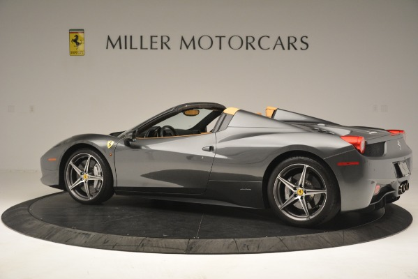 Used 2013 Ferrari 458 Spider for sale Sold at Maserati of Greenwich in Greenwich CT 06830 4