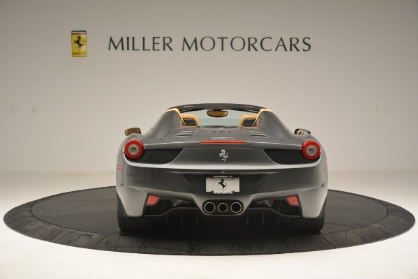 Used 2013 Ferrari 458 Spider for sale Sold at Maserati of Greenwich in Greenwich CT 06830 7