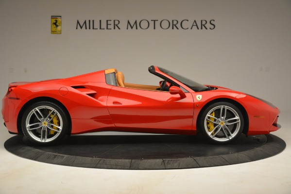 Used 2018 Ferrari 488 Spider for sale Sold at Maserati of Greenwich in Greenwich CT 06830 9