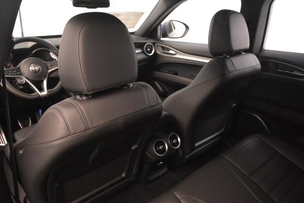 New 2019 Alfa Romeo Stelvio Ti Sport Q4 for sale Sold at Maserati of Greenwich in Greenwich CT 06830 20