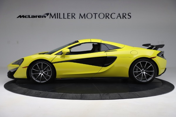 New 2019 McLaren 570S SPIDER Convertible for sale $227,660 at Maserati of Greenwich in Greenwich CT 06830 10