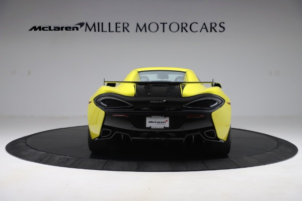 New 2019 McLaren 570S SPIDER Convertible for sale $227,660 at Maserati of Greenwich in Greenwich CT 06830 12