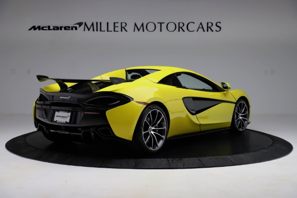 New 2019 McLaren 570S SPIDER Convertible for sale $227,660 at Maserati of Greenwich in Greenwich CT 06830 13