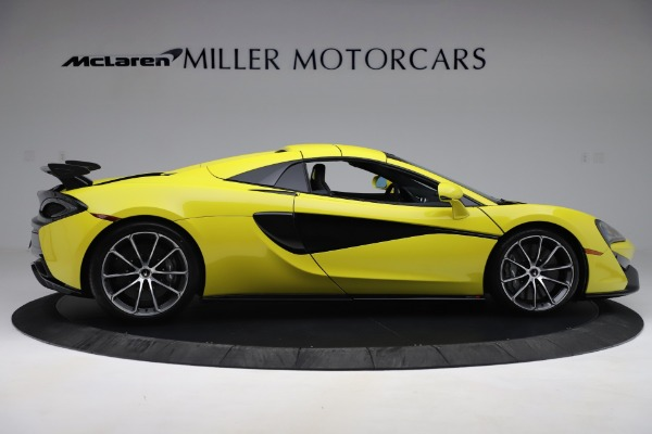 New 2019 McLaren 570S SPIDER Convertible for sale $227,660 at Maserati of Greenwich in Greenwich CT 06830 14