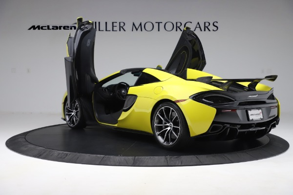 New 2019 McLaren 570S SPIDER Convertible for sale $227,660 at Maserati of Greenwich in Greenwich CT 06830 19