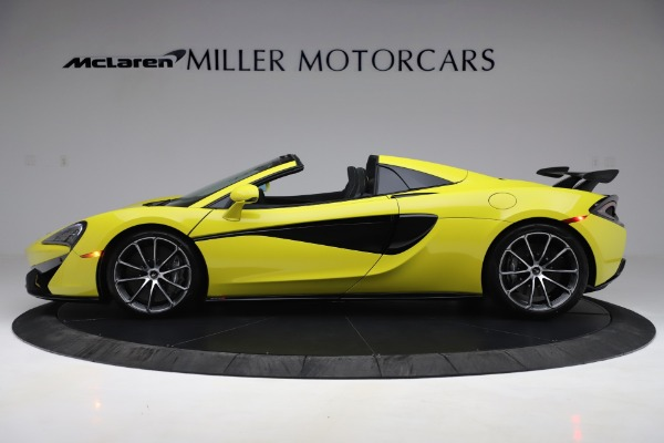New 2019 McLaren 570S SPIDER Convertible for sale $227,660 at Maserati of Greenwich in Greenwich CT 06830 2