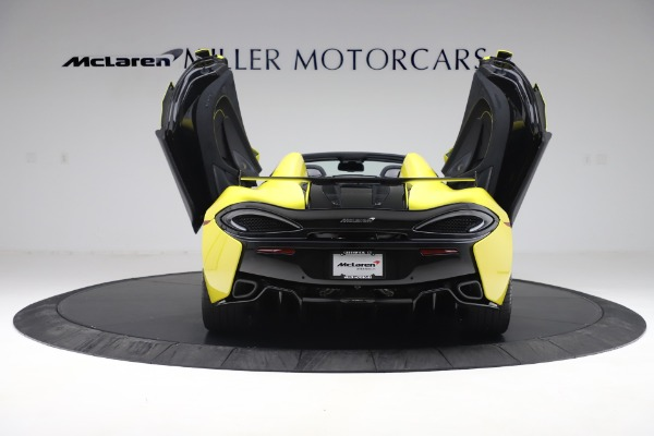 New 2019 McLaren 570S SPIDER Convertible for sale $227,660 at Maserati of Greenwich in Greenwich CT 06830 20