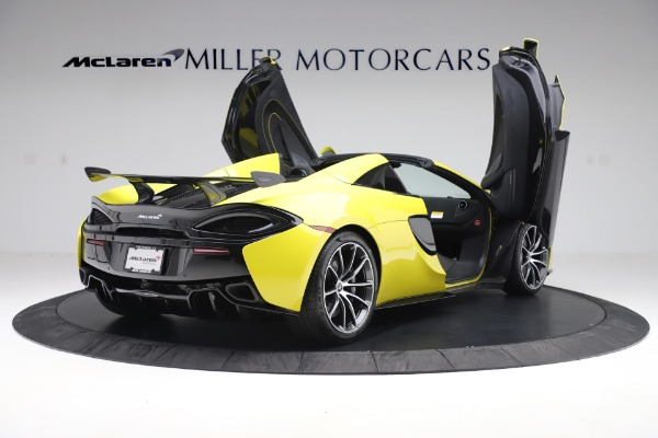 New 2019 McLaren 570S SPIDER Convertible for sale $227,660 at Maserati of Greenwich in Greenwich CT 06830 21