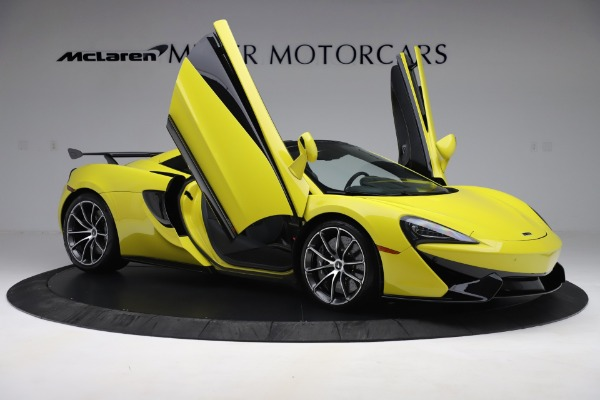 New 2019 McLaren 570S SPIDER Convertible for sale $227,660 at Maserati of Greenwich in Greenwich CT 06830 22