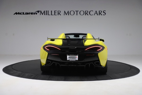 New 2019 McLaren 570S SPIDER Convertible for sale $227,660 at Maserati of Greenwich in Greenwich CT 06830 4