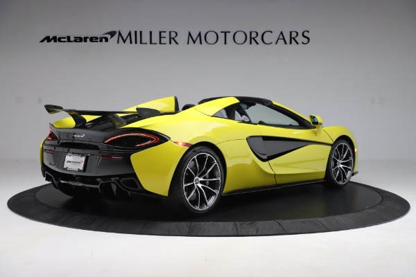 New 2019 McLaren 570S SPIDER Convertible for sale $227,660 at Maserati of Greenwich in Greenwich CT 06830 5