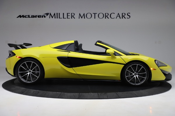 New 2019 McLaren 570S SPIDER Convertible for sale $227,660 at Maserati of Greenwich in Greenwich CT 06830 6