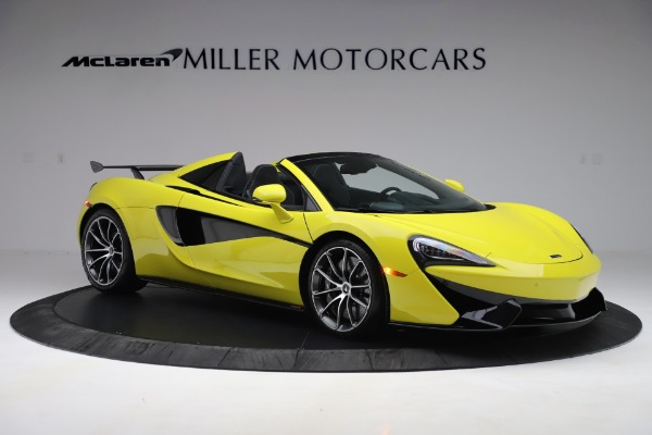 New 2019 McLaren 570S SPIDER Convertible for sale $227,660 at Maserati of Greenwich in Greenwich CT 06830 7