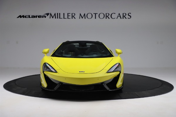 New 2019 McLaren 570S SPIDER Convertible for sale $227,660 at Maserati of Greenwich in Greenwich CT 06830 8