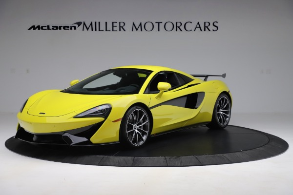 New 2019 McLaren 570S SPIDER Convertible for sale $227,660 at Maserati of Greenwich in Greenwich CT 06830 9