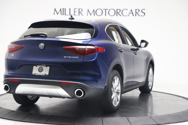New 2019 Alfa Romeo Stelvio Ti Lusso Q4 for sale Sold at Maserati of Greenwich in Greenwich CT 06830 7