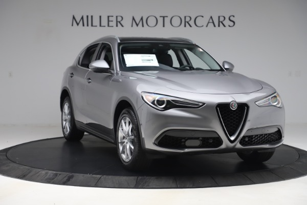 New 2019 Alfa Romeo Stelvio Ti Lusso Q4 for sale Sold at Maserati of Greenwich in Greenwich CT 06830 11