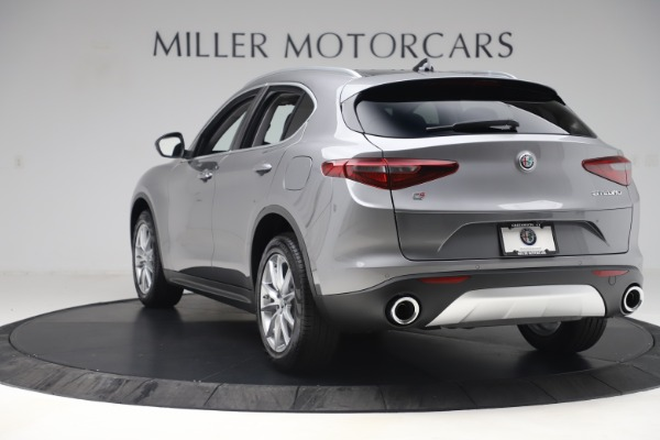 New 2019 Alfa Romeo Stelvio Ti Lusso Q4 for sale Sold at Maserati of Greenwich in Greenwich CT 06830 5