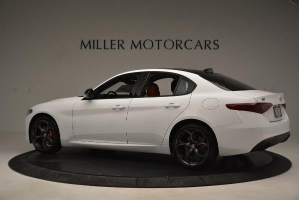 New 2019 Alfa Romeo Giulia Q4 for sale Sold at Maserati of Greenwich in Greenwich CT 06830 4