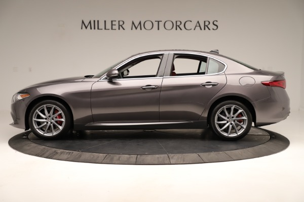 New 2019 Alfa Romeo Giulia Q4 for sale Sold at Maserati of Greenwich in Greenwich CT 06830 3