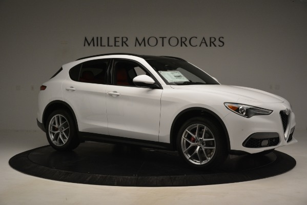 New 2019 Alfa Romeo Stelvio Ti Sport Q4 for sale $54,840 at Maserati of Greenwich in Greenwich CT 06830 10