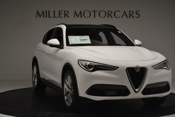 New 2019 Alfa Romeo Stelvio Ti Sport Q4 for sale $54,840 at Maserati of Greenwich in Greenwich CT 06830 11