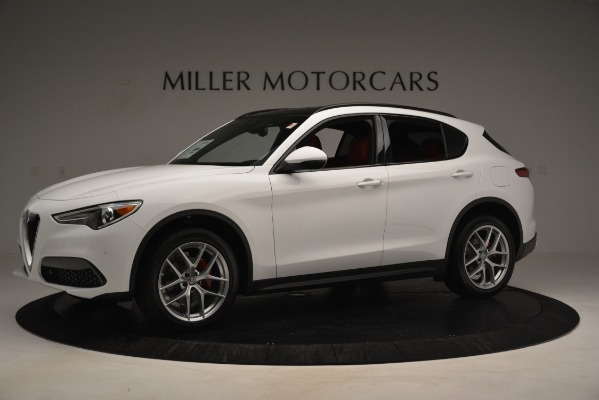 New 2019 Alfa Romeo Stelvio Ti Sport Q4 for sale $54,840 at Maserati of Greenwich in Greenwich CT 06830 2