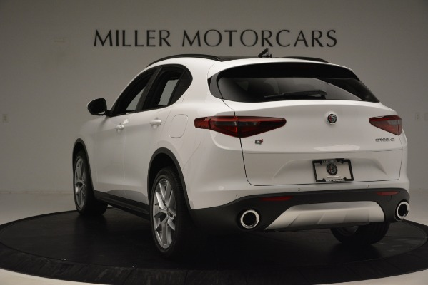 New 2019 Alfa Romeo Stelvio Ti Sport Q4 for sale $54,840 at Maserati of Greenwich in Greenwich CT 06830 5