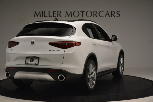 New 2019 Alfa Romeo Stelvio Ti Sport Q4 for sale $54,840 at Maserati of Greenwich in Greenwich CT 06830 7